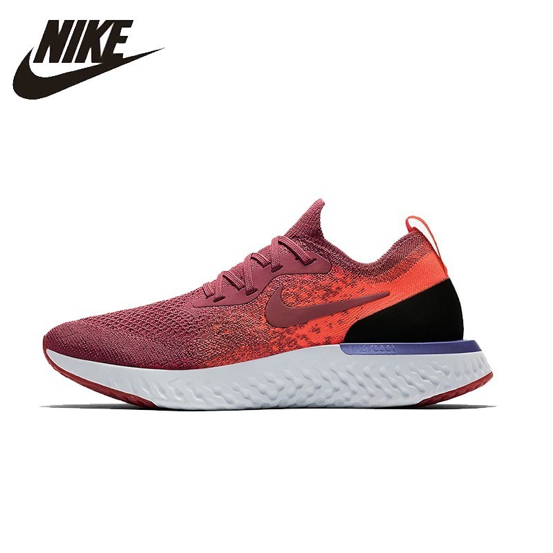 e162f99cb981 NIKE EPIC REACT FLYKNIT Original Womens Running Shoes Mesh Breathable  Stability Support Sports Sneakers For Women