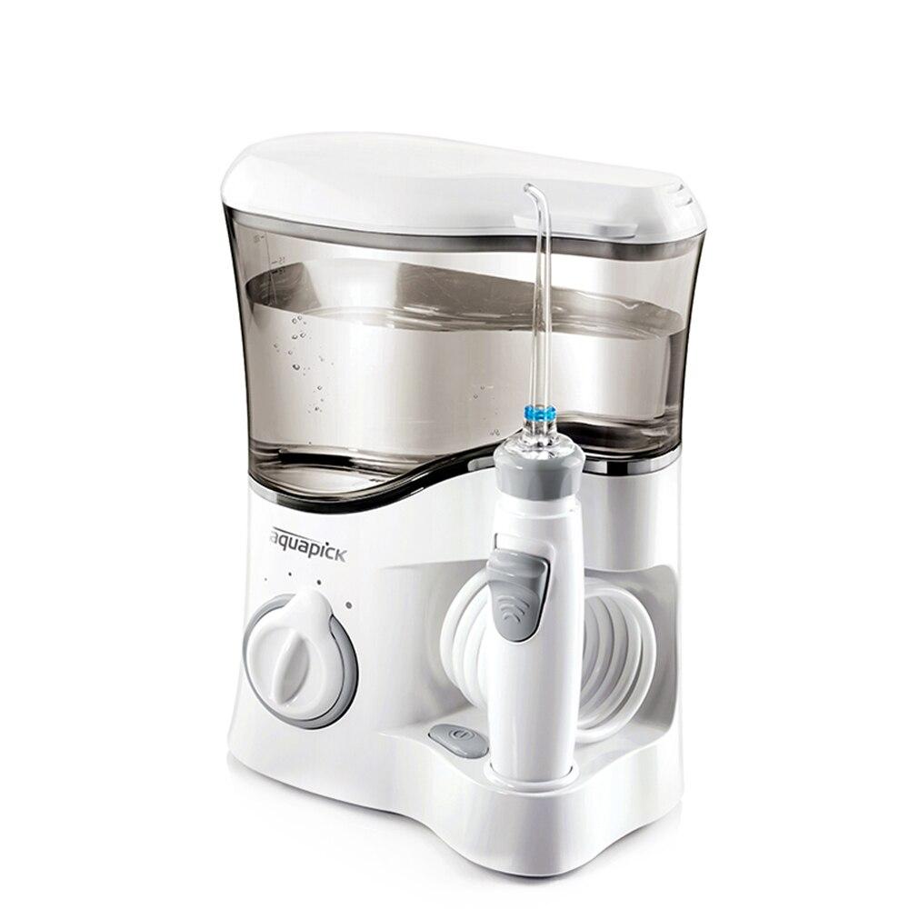 Aquapick AQ300 Ménage Électrique Dentaire Flosser Oral Irrigation Dents Cleaner Puissance Soie Dentaire Eau Flosser Jet X25