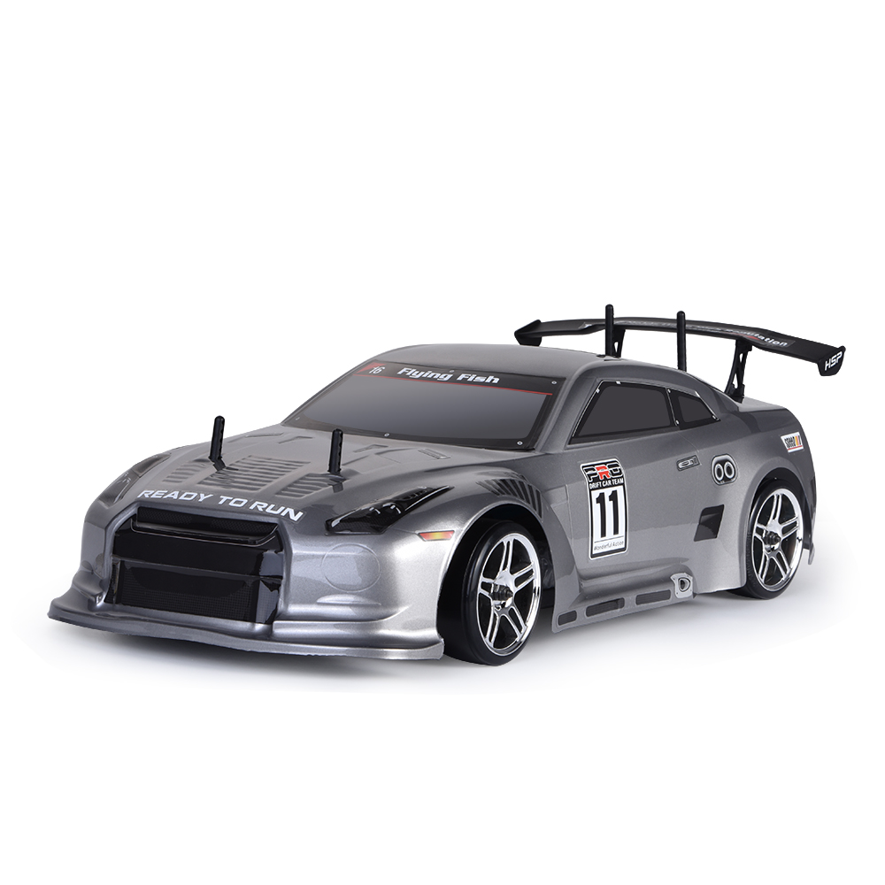 HSP Rc Car 1:10 4wd On Road Rc Drift Car 94123PRO FlyingFish Electric Power Brushless Lipo High Speed Hobby Remote Control Car защита стопы larsen футы tc 0119 красный