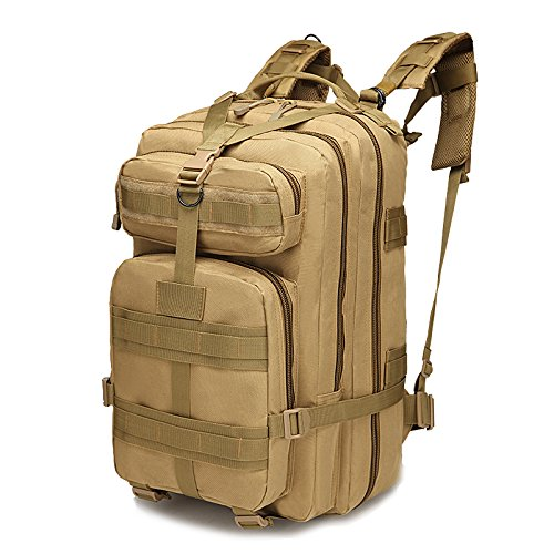 30L Outdoor Hiking Camping Bag Army Military Tactical Climbing Trekking Storage Rucksack Backpack Camo Molle Pack military usmc army tactical molle rifle backpack hiking hunting camping travel rucksack roll pack gun storage fishing rode bag