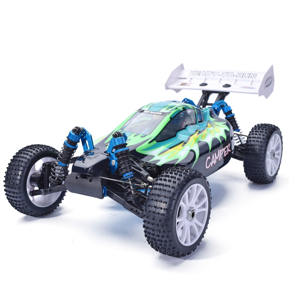 HSP Rc Car Nitro Gas Power 4wd 1/8 Scale Models Off Road Buggy 94860 CAMPER High Speed Hobby 4x4 Remote Control Car 02023 clutch bell double gears 19t 24t for rc hsp 1 10th 4wd on road off road car truck silver