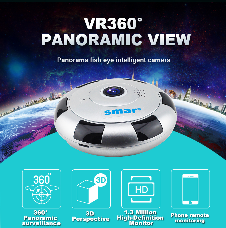 XQ1-VR 360 PAnoramic View Camera