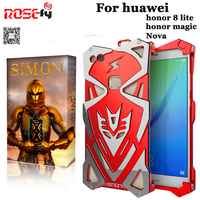 Simon Aluminum Cases For Huawei Nova Shockproof Metal Thor Ironman Protect Cases Huawei Nova Phone Cover