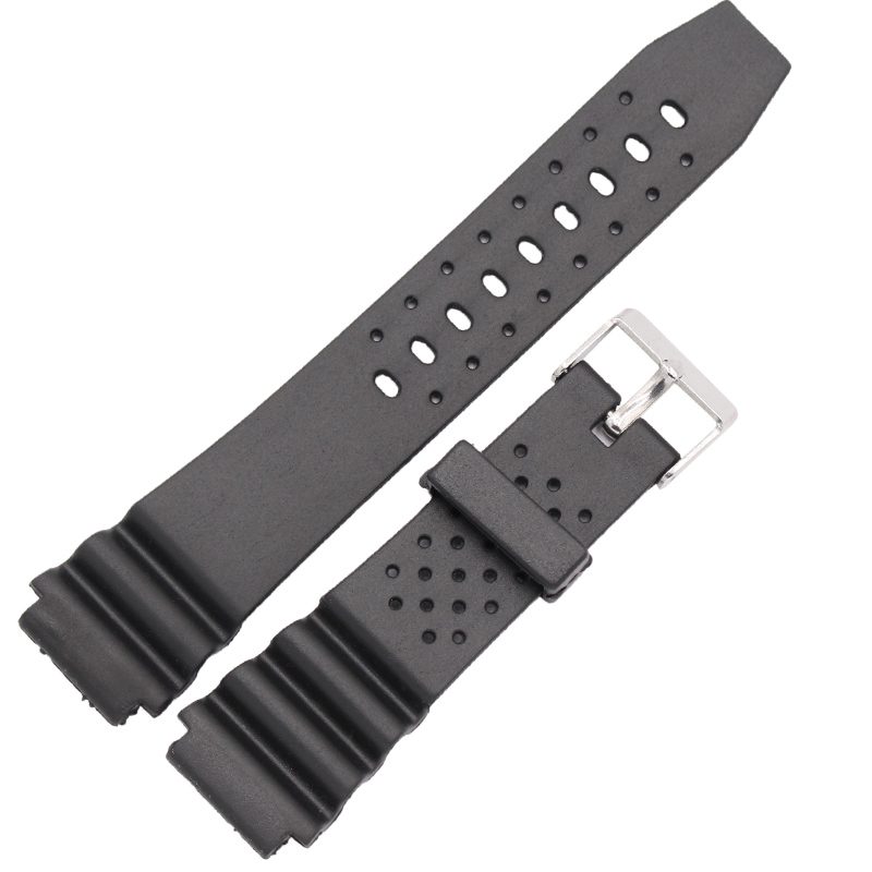18mm 20mm 22mm Rubber Watchbands High Qualit Men Sports Silicone Watch Strap Band For Casio Watch Accessories