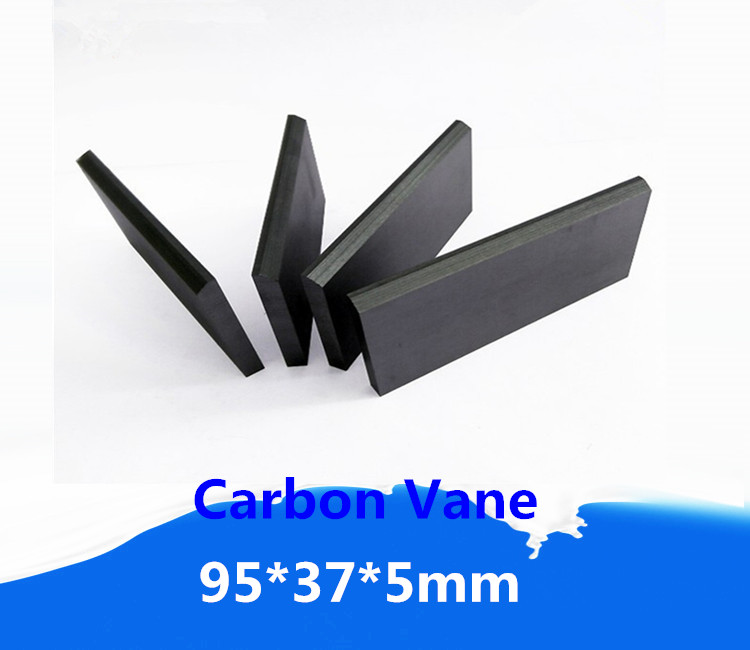 US 13 0 95x37x5mm Carbon Graphite Vane For Vacuum Pump Carbon Blades For Gast Rotary Vane Compressors In Clamps From Home Improvement On