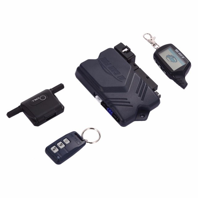 Two-way Car Burglar Alarm keychain RC Anti-theft Device System Russian version Two Way Other For Twage Starline B9