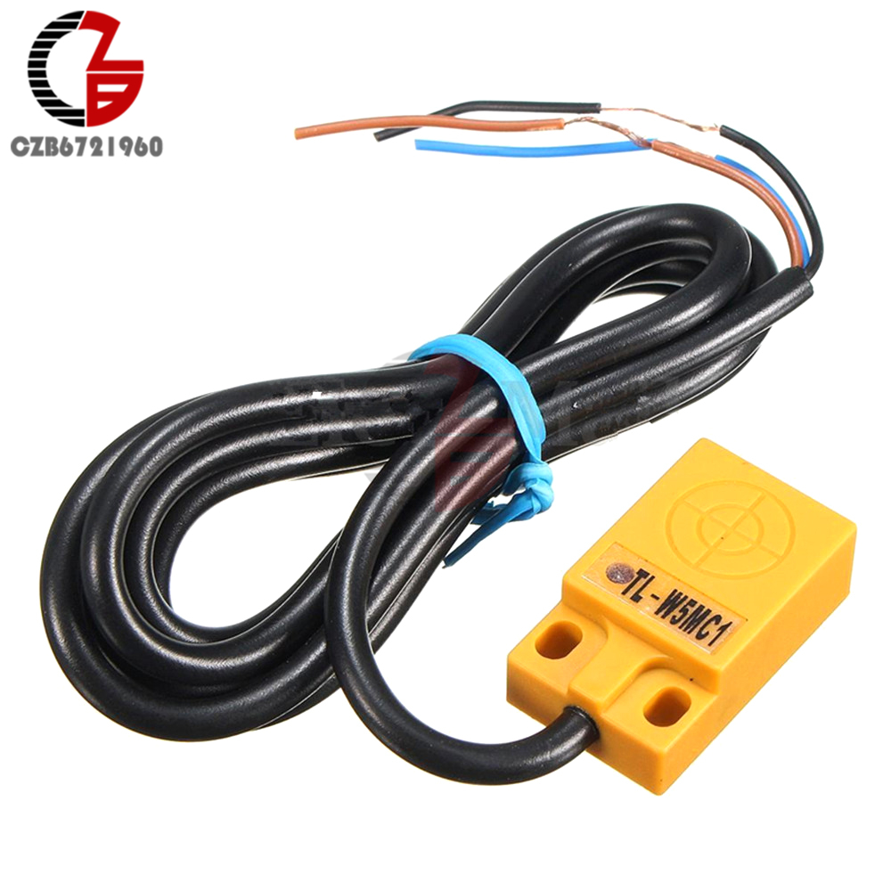 Hot Sale 1pc Tl W5mc1 5mm Detecting Inductive Proximity Sensor Sensors Detection Switch Npn Dc 6 36v 200a 30 X 18 10mm Promotion