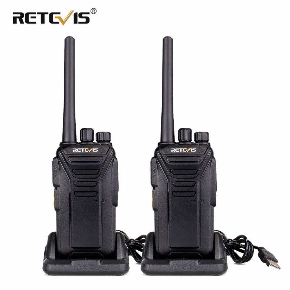 2pcs Retevis RT27 Handy Two Way Radio Walkie Talkie PMR PMR446 FRS VOX Scrambler CTCSS DCS