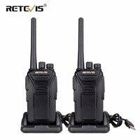 2pcs Retevis RT27 Handy Two Way Radio Walkie Talkie PMR PMR446/FRS VOX Scrambler CTCSS/DCS Ham Radio Hf Transceiver USB Charging