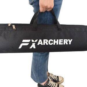 Image 4 - 1 шт., Рекурсивный бант для стрельбы из лука, длинный бант, парусиновая сумка с двойным слоем, портативная Защитная водонепроницаемая сумка, аксессуары для охоты и стрельбы