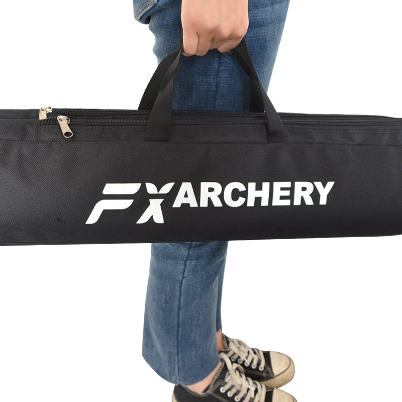 Image 4 - 1pc Archery Recurve Bow Longbow Canvas Bow Bag Double Layer Portable Protector Waterproof Handbag Hunting Shooting Accessories-in Bow & Arrow from Sports & Entertainment