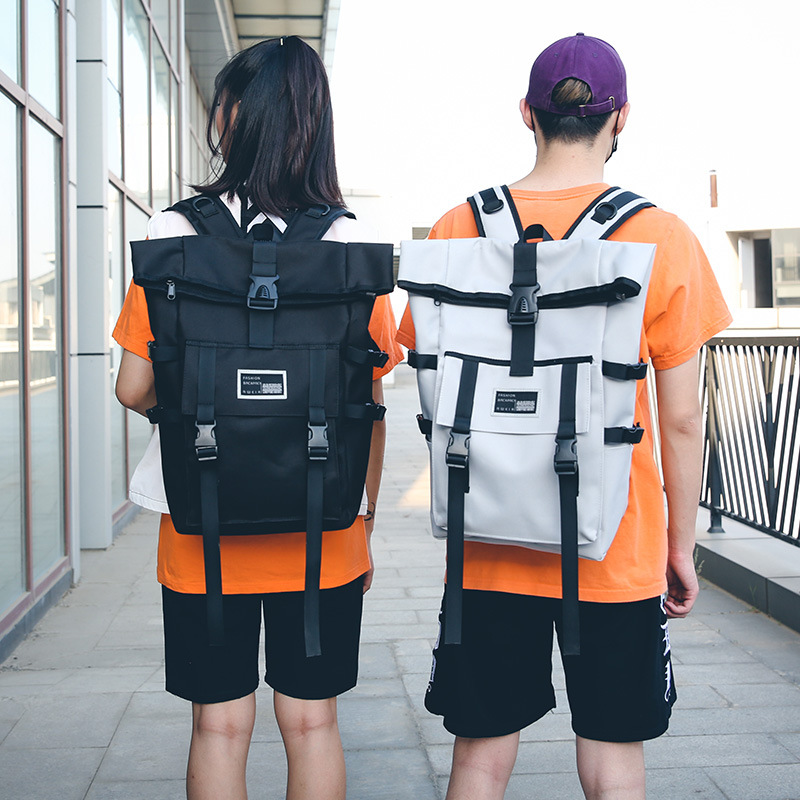 Casual Oxford Waterproof Travel Bags Simple Large Capacity Backpacks Women Bags For Teenager Girl Canvas Bookbag Mochila Satchel