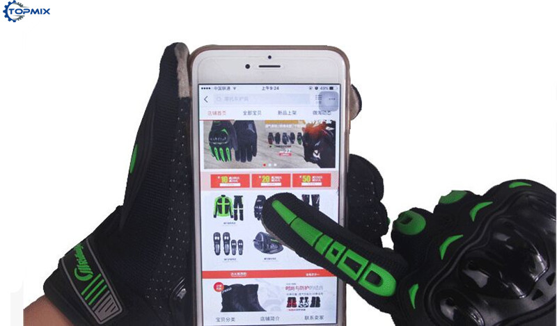 Screen Touch Motorcycle Gloves 4