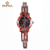BEWELL Women S Watch Bracelet Watch Gems Unique Design Lightweight Portable Women S Watches Gift Boxes