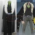 One Piece Cosplay Shichibukai Sir Crocodile Costume Coat for Sale