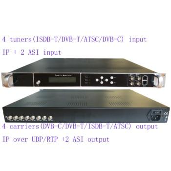 4/8 way dvb-s2/S to dvb-C catv modulator, 4/8 way DVB-C/T tuner to DVB-C RF modulator