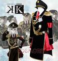 K Kushina Anna ejército uniforme mujeres cosplay
