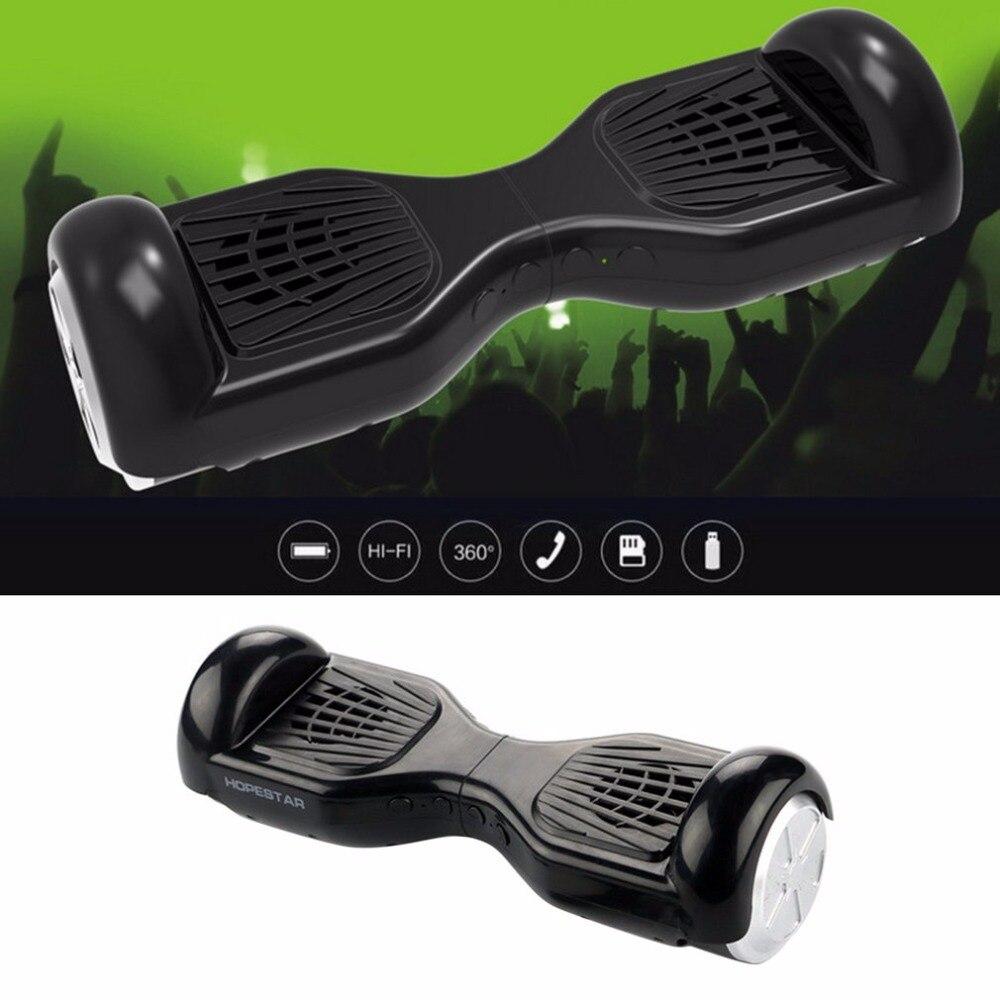 Drahtlose Bluetooth Lautsprecher H7 Stilvolle Hoverboard 3D Stereo Musik Unterstützung TF Karte Mit Radio Funktion Lautsprecher für Geschenk