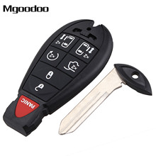 Mgoodoo 7 Buttons Remote Car Key Shell Case Fob Car-covers For Chrysler Town & Country Dodge Grand Caravan Auto Repalcement