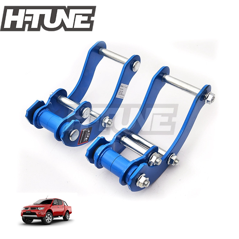 H TUNE 4x4 Accesorios Leaf Spring Suspension Rear Extended 2 Comfort G Shackle Lift Kit Fits