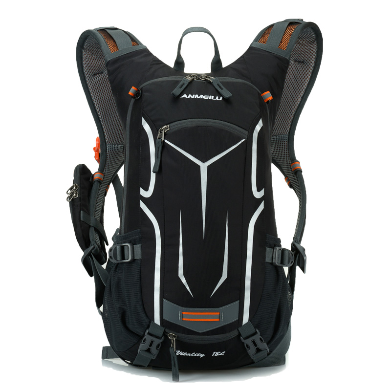 Anmeilu 18L Outdoor Ultralight Mountain <font><b>Bike</b></font> Bag Hydration Pack Water Backpack Cycling Bicycle with Rain Cover for Travel Hike