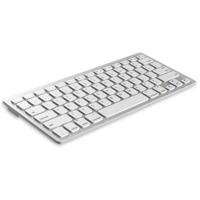 3209e4d3f33 Multi-Lingual Universal Wireless Bluetooth Keyboard Ultra Slim Compatible  for Apple iOS iPad Android Tablets Windows Mac OS