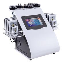 Vacuum rf cavitation lipo laser combination slimming machine/portable home use