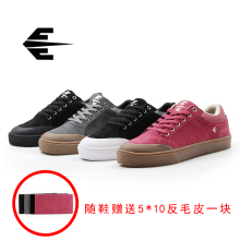 Casual Male Athletic Skateboard Shoes Anti-Slippery Lakai MANCHESTER Shoes for Skateboarding цена 2017