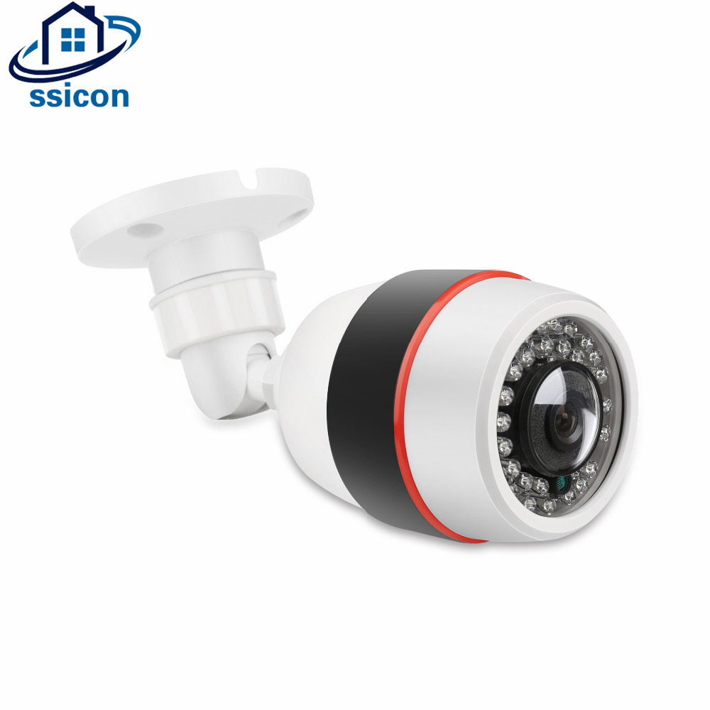 SSICON 1.3MP 2.0MP Bullet Fisheye Camera 24Pcs IR Leds IR Distance 25M 1.44mm Lens Panoramic 360 Degree Camera With OSD Menu bullet camera tube camera headset holder with varied size in diameter