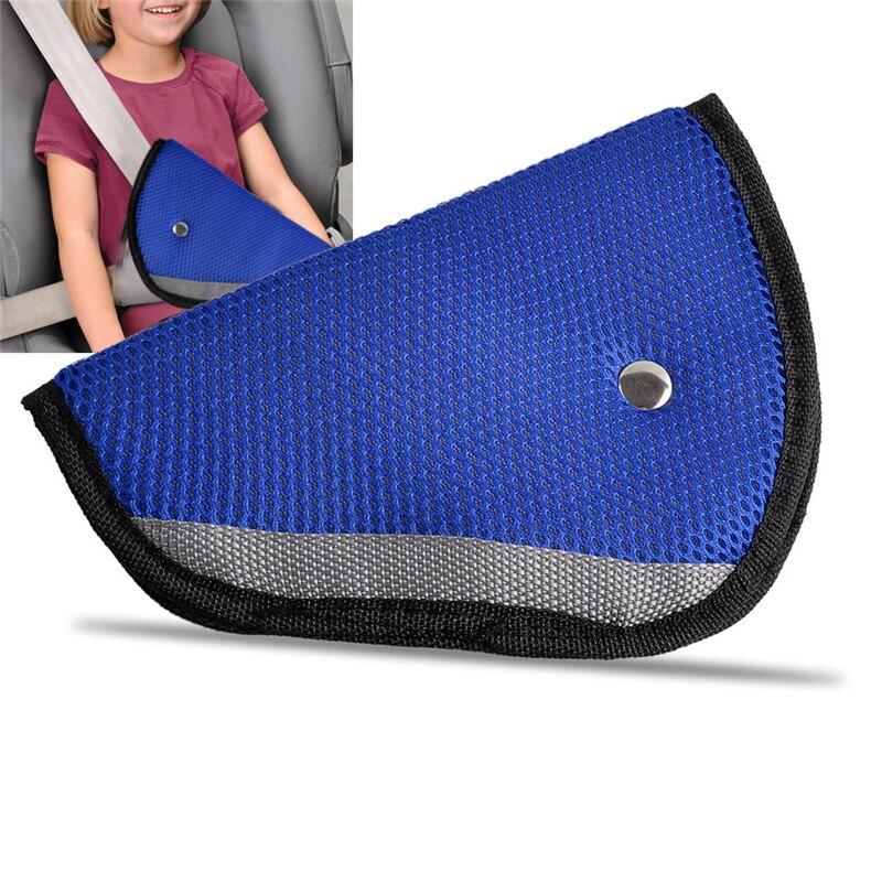 High Quality Car Safe Fit Seat Safety Belt Adjust Device Triangle Belt Sturdy Adjuster Car Baby Child Protection Baby Safety