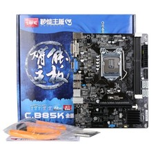 New original authentic computer motherboards for Colorful C.B85K all solid V24 LGA 1150 B85 motherboard DVI + VGA