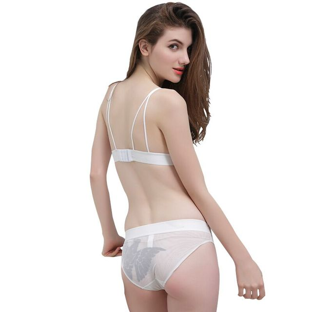 CYHWR 2017 lingerie Sexy women underwear set 3/4 Free Wire Cup Lingerie Lace bra and panty set for women