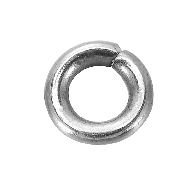 1500 PCs Assorted Wholesale Lots Mixed Silver Tone Open Jump Rings 3mm-8mm