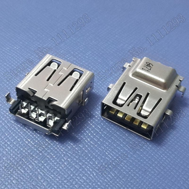 50pcs/lot 3.0 USB Jack Connector for Dell Inspiron 15 3521 5521 5565 5567 5765 15R 5537 17R 5721 5737 etc Laptop USB3.0 Port(China)