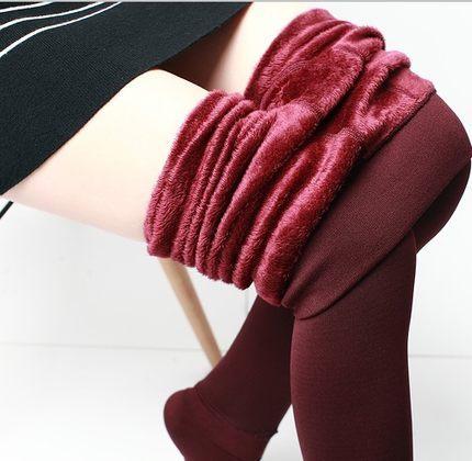 2016 new autumn and winter leggings Plus velvet thick Leggings Large size stretch Fashion warm Leggings JN1132