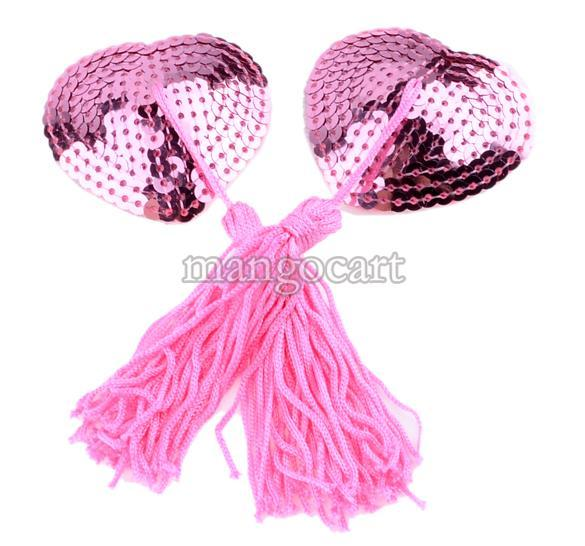 10Set/Lot New Sexy Women Lingerie Sequin Tassel Breast Bra Nipple Cover Sex Product Toys Pasties Stickers Petals 38