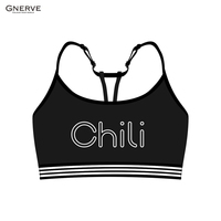 GNERVE Anti shock Cycling Bike Bicycle Vest Absorb Sweat Yoga Bra Vest Bicycle Fit Women Vest Seamless Underwear Sport Bra Gym