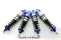 GTBracing Losi 5IVE T Shock suspension set (Titanium and blue color) LOSI 035