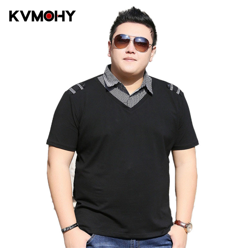 Men   Polo   Shirt Brand New Fashion Men's Lapel   Polos   Shirts Male Camisa Plus Size 6XL 7XL Summer Casual   Polo   Homme Clothes
