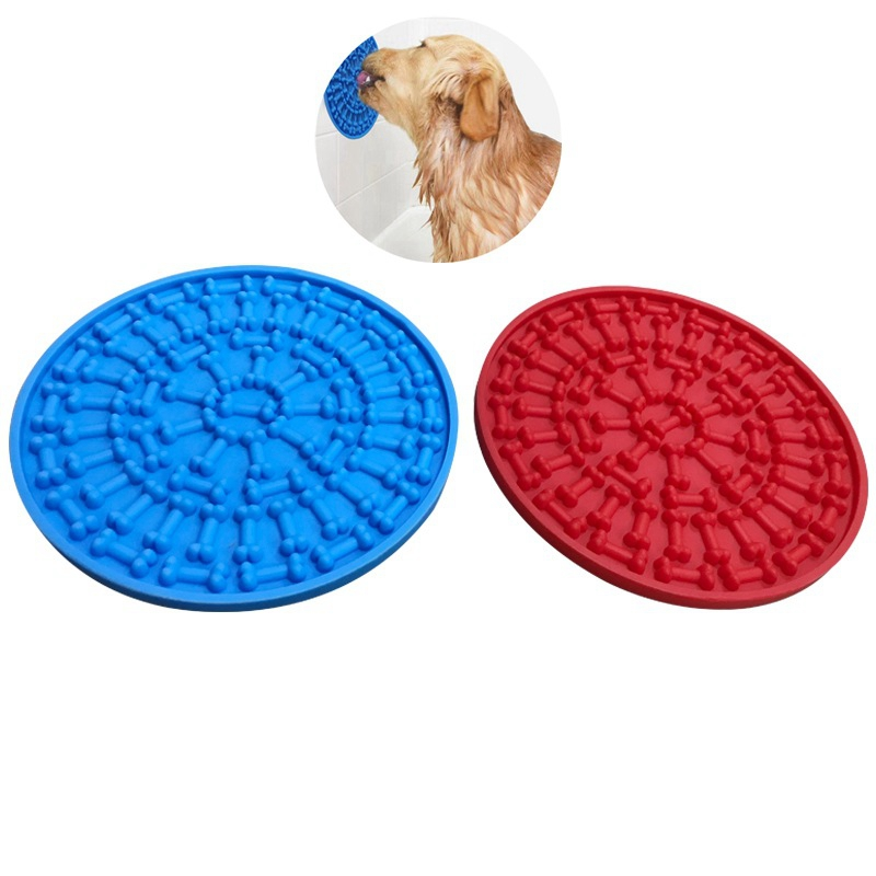 Dog Feeding Lick Mat Spread Peanut Butter for Bath Distraction Easy Grooming in Shower Tub Sink Toy Pet Washing Product DropshipDog Feeding Lick Mat Spread Peanut Butter for Bath Distraction Easy Grooming in Shower Tub Sink Toy Pet Washing Product Dropship