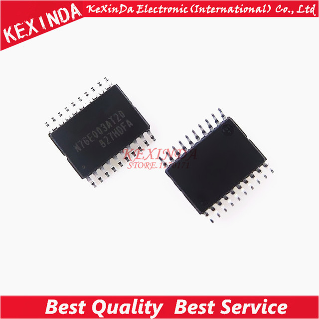 N76E003AT20 TSSOP 20 New original Replace STM8S003F3P6 New original 100pcs/lot Free shipping