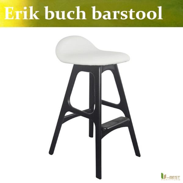 Free shipping U-BEST The company  negotiation bar stool,The model room bar stool,Restaurant studio bar chair,The designer chairs