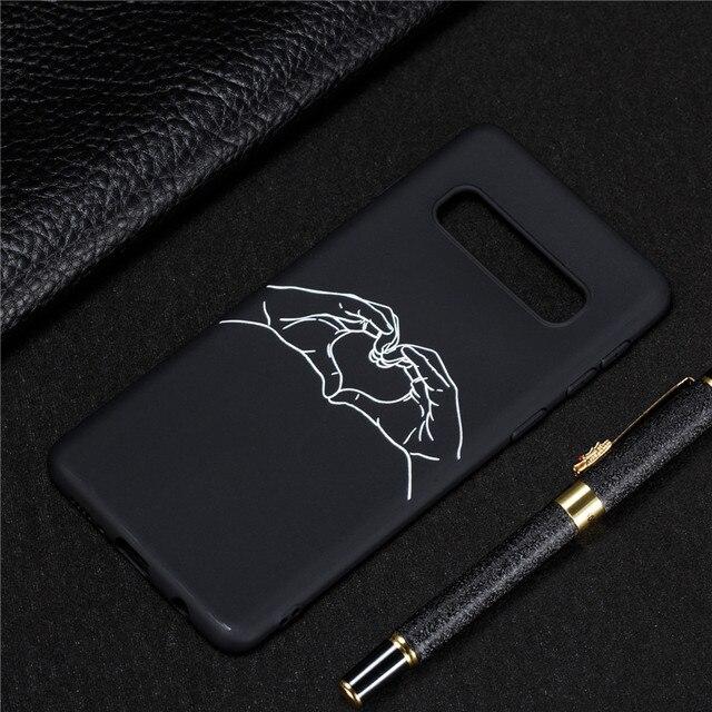 Siliconen Case op voor Samsung Galaxy S10 Couqe Zachte TPU Cover voor Samsung S 10 Plus S10e S10Plus Slanke telefoon Gevallen Capa 4
