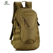 Wasserdichte 3D Military Tactics Rucksack Rucksack Tasche 20L für Wanderung Trek Camouflage Reiserucksack X67