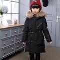 Winter Jacket for Girl Boy Children Parka Boy Girl Winter Coat Winter Kid Coat Long Duck Down Thick Faux Fur Hooded Outerwear