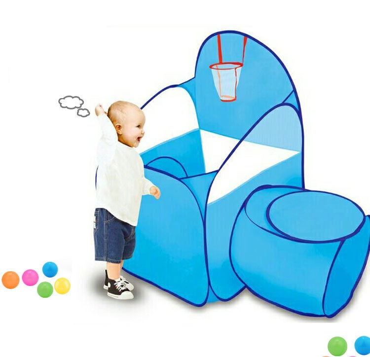 YARD Baby Portable Foldable Outdoor Indoor Toys Tent PlayHouse with Baby Crawl Tunnel an ...