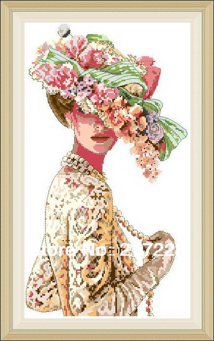 aliexpress com   buy high quality counted cross stitches kit the victorian elegance fashion lady