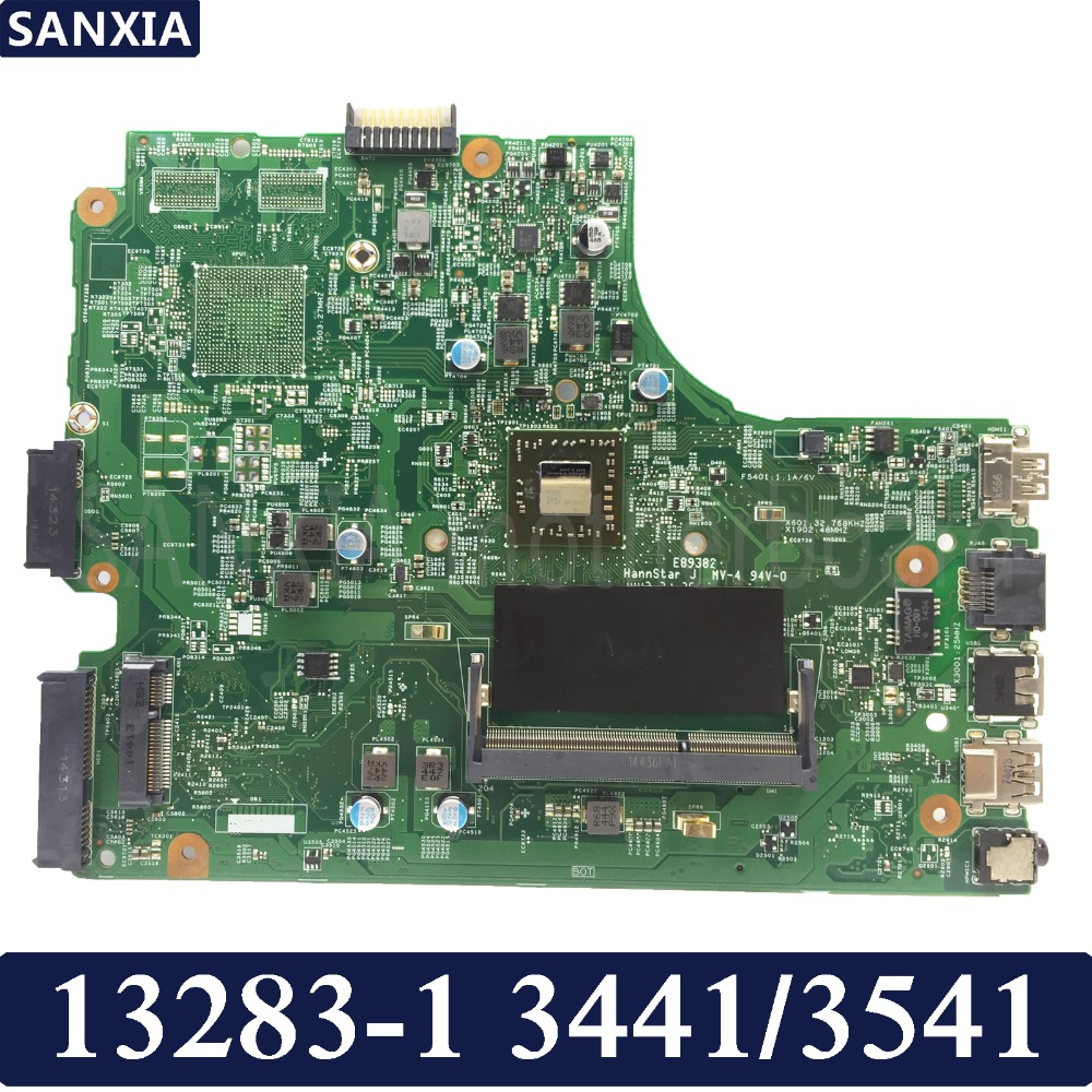 KEFU 13283-1 Laptop motherboard for DELL 3441 3541 Test original mainboard APU GM image
