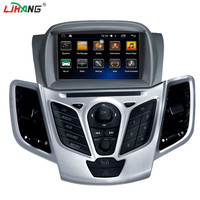 LJHANG 2 DIN Android 6 0 1 Car DVD Player For Ford Fiesta 2008 2009 2010