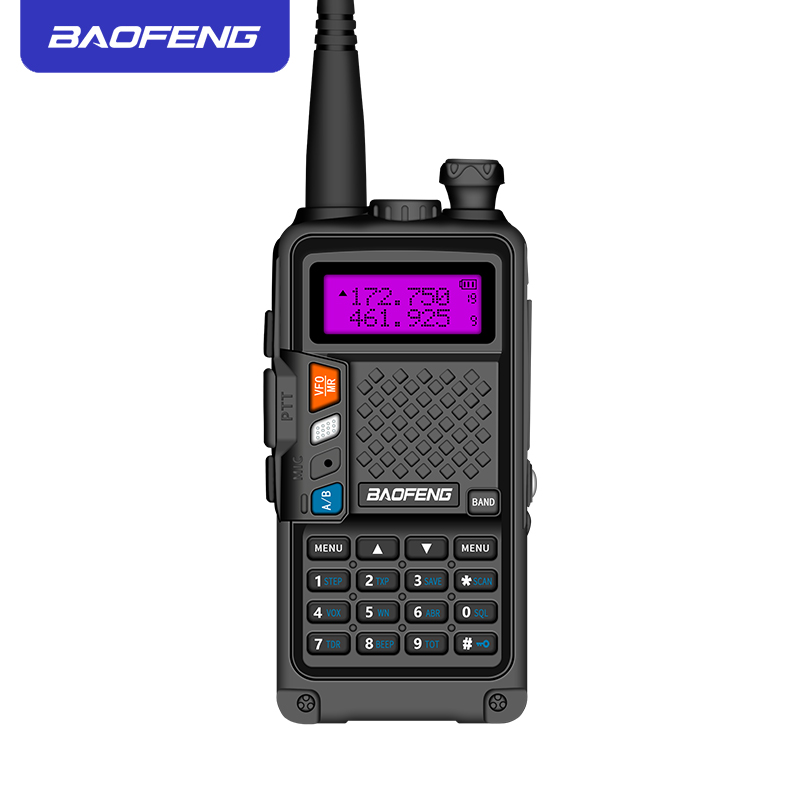 Image 3 - 2019 original BAOFENG BF R9 8W High Power UHF/VHF Dual Band 10KM Long Range Walkie Talkie 3800mAh Battery Handheld Radio-in Walkie Talkie from Cellphones & Telecommunications